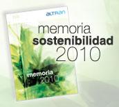 ALTRAN_Memoria de Sostenibilidad 2010